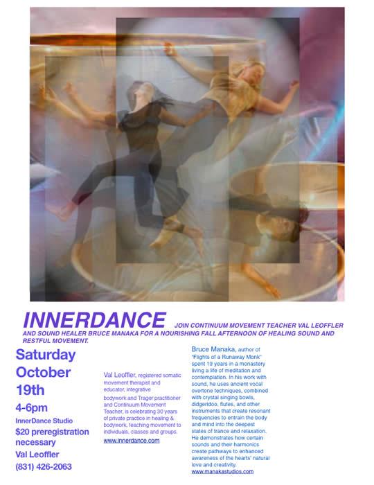 InnerDance with Bruce Manaka